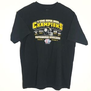 Reebok Steelers 5 time superbowl champions